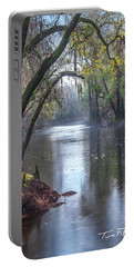 Misty River Portable Battery Charger by Tim Fitzharris