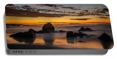 Misty Seascape Portable Battery Charger