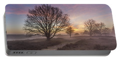 Misty Sunrise Portable Battery Charger
