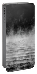 Portable Battery Charger featuring the photograph Misty Twister by Doug Gibbons