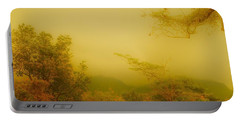 Misty Yellow Hue- El Valle De Anton Portable Battery Charger