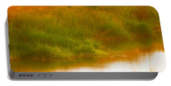 Misty Yellow Hue -lone Jacana Portable Battery Charger