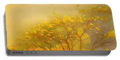 Misty Yellow Hue -poui Portable Battery Charger