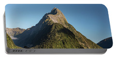 Portable Battery Charger featuring the photograph Mitre Peak Rahotu by Gary Eason