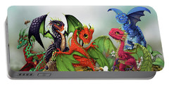 Mixed Berries Dragons Portable Battery Charger