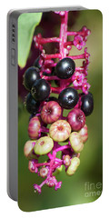 Mixed Berries On Branch Portable Battery Charger