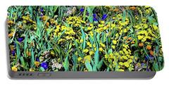 Mixed Flower Garden 515 Portable Battery Charger