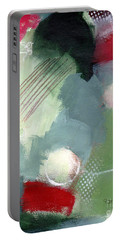 Portable Battery Charger featuring the mixed media Mixed Media Abstract 3617 by Patricia Cleasby