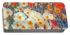 Mixed Poppies Portable Battery Charger