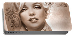 Mm 127 Deco Sepia Portable Battery Charger
