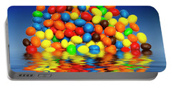 Portable Battery Charger featuring the photograph Mm Chocolate Sweets by David French
