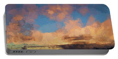 Moab Sunrise Abstract Painterly Portable Battery Charger