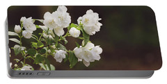 Portable Battery Charger featuring the photograph Mock Orange Blossoms by Kim Hojnacki