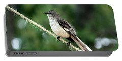 Mockingbird On Rope Portable Battery Charger