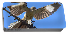 Mockingbird Sees Me I Portable Battery Charger