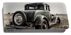 Portable Battery Charger featuring the photograph Model A by Brad Allen Fine Art