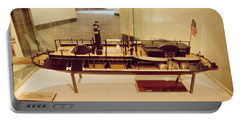 Model Display Of Ironclad River Gunboat  Portable Battery Charger