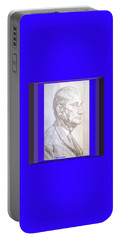 Portable Battery Charger featuring the photograph Model Framed by Elly Potamianos