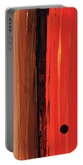 Portable Battery Charger featuring the painting Modern Art - The Power Of One Panel 1 - Sharon Cummings by Sharon Cummings