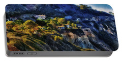 Modern Cliff Dwellers Portable Battery Charger by Joseph Hollingsworth