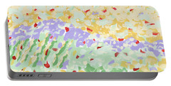 Modern Landscape Painting 3 Portable Battery Charger