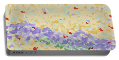 Modern Landscape Painting 4 Portable Battery Charger