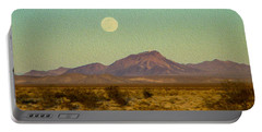 Mohave Desert Moon Portable Battery Charger