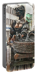 Portable Battery Charger featuring the photograph Molly Malone by Hanny Heim