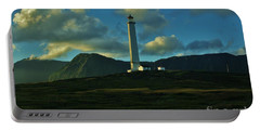 Molokai Lighthouse Portable Battery Charger by Craig Wood