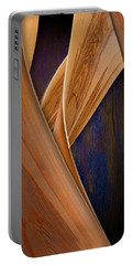 Molten Wood Portable Battery Charger