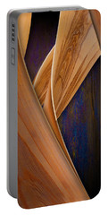Portable Battery Charger featuring the photograph Molten Wood by Paul Wear