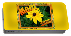 Portable Battery Charger featuring the digital art Mom You Are Loved And Appreciated by Sonya Nancy Capling-Bacle