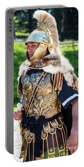Watchful Roman Legionnary Soldier Portable Battery Charger