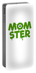 Momster Halloween Funny Monster For Mom And Women Humor Halloween Easy Costume Office Parties Portable Battery Charger