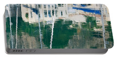 Portable Battery Charger featuring the photograph Monaco Reflection by Keith Armstrong
