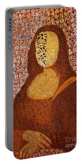 Monalisa Portable Battery Charger by Fei A