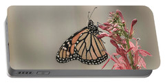 Monarch And Cardinal Flower 2016-2 Portable Battery Charger