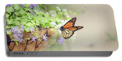 Monarch And Garden Basket Portable Battery Charger