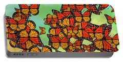 Monarch Butterflies Portable Battery Charger