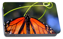 Portable Battery Charger featuring the photograph Monarch Butterfly by Laurel Talabere