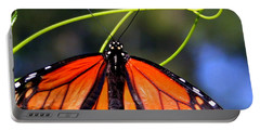 Monarch Butterfly Portable Battery Charger by Laurel Talabere