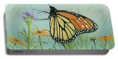 Monarch Butterfly Portable Battery Charger