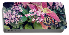 Monarch Butterfly Garden Portable Battery Charger