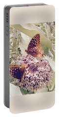 Monarch's On Milkweed Portable Battery Charger