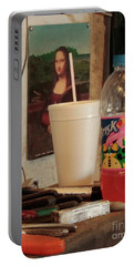 Portable Battery Charger featuring the photograph Monas Sodas by Joe Jake Pratt