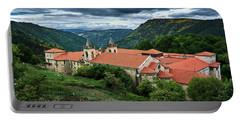 Monastery Of Santo Estevo De Ribas Del Sil Portable Battery Charger