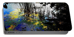 Monet Ice Age Pond Portable Battery Charger