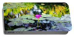 Monet Lilies Portable Battery Charger
