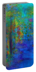 Monet Woods Portable Battery Charger by Claire Bull