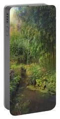 Monets Paradise Portable Battery Charger by John Rivera